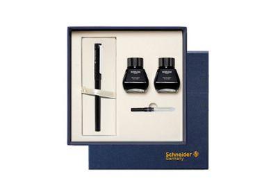 德国schneider钢笔施耐德EF墨水礼盒